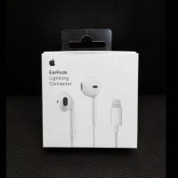 Headset Earphone EarPods HF Lightning Apple iphone 7/8/X Original OEM
