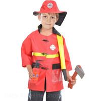 Baju Kostum anak pemadam kebakaran| Fire fighter costume