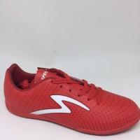 Sepatu futsal specs original Barricada Guardian emperor red new 2018