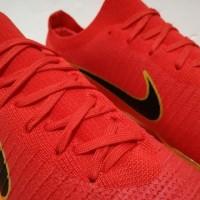 Best Seller Sepatu Bola Soccer Nike Mercurial Vapor Flyknit Ultra Red