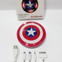 Powerbank Avenger Captain America