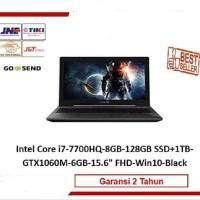 ASUS FX503VM-GAMING HDD + SSD GTX1060 MURAH !!