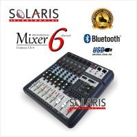 MIXER 6 CHANNEL Crimson LX-6 BLUETOOTH USB EQUALIZER
