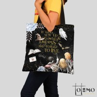 Tote Bag Kanvas Harry Potter To Dwell on Dreams
