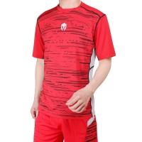 Baju Olahraga Futsal Baju Badminton MILLS . Code: 1004 Red