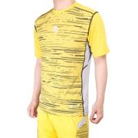Baju Futsal Olahraga Baju Badminton MILLS . Code: 1004 Yellow - Kuning, M