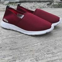 Sepatu Casual Slip On Cewek Wanita Adidas