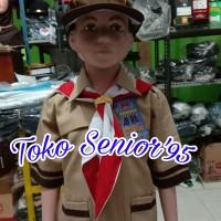 Baju Pramuka Lengan Pendek SD Siaga kelas 1-3 no 10.11.12