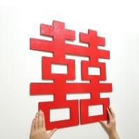 SHUANG XI / DOUBLE HAPPINESS BACKDROP / HIASAN SANGJIT / LAMARAN