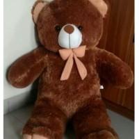 boneka teddy beruang coklat jumbo