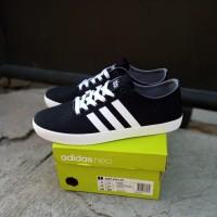 Sepatu Casual Adidas Neo Easy Vulc Black White Original BNIB!