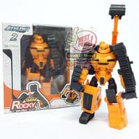 Mainan MiNi ROCKY Athlon 2 Murah --Transform Robocar figure--