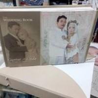 STOK TERAKHIR CETAK ALBUM FOTO KOLASE BOX KOPER KULIT 10 SHEET Limited