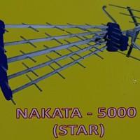 Antena outdoor 5 jari NAKATA 5000 cocok tv tabung dan tv led