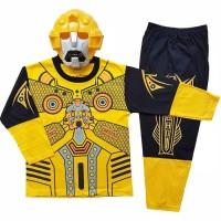 baju bumble bee/bumblebee/baju robot transformer/baju superhero/baju