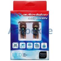 Autovision Microzen LED T10 Canbus White Putih Lampu Senja Motor Mobil
