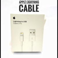 KABEL DATA APPLE ORIGINAL FOR IPHONE IPOD IPAD 1M SUPPORT ALL IOS