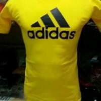 Tshirt, shirt, Kaos sablon, Kaos Pria diatro Adidas