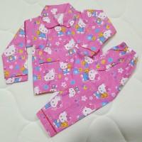 Piyama Anak Baju Tidur Hello Kitty Pink