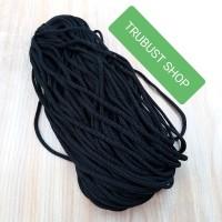 tali kur cord 3mm filamen paper bag warna hitam jual per pack 32mtr