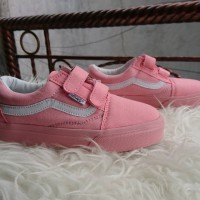 Sepatu Vans Old School Anak Warna Pink