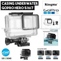 KingMa Waterproof Housing Case 45M for GoPro Hero 5 / 6 / 7 Black