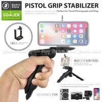 Handheld Stabilizer Tripod Mini Foldable 2 in 1 Holder U Smartphone HP