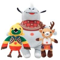 Promo Boneka Maskot Asian Games 2018 10 Inch Printing Series Original