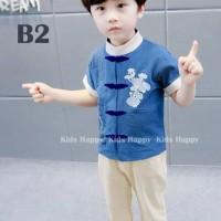 size besar baju imlek anak tanggung baju setelan congsam baju cheongsa