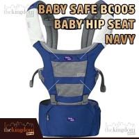 Baby Safe BC005 Baby Carrier Hip Seat Navy Gendongan Anak Bayi
