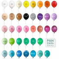 Isi 25 Balon Latex 11 Standard / Doff Lokal Grade A Kualitas Ekspor