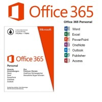 Microsoft Office 365 Personal ORIGINAL For 1PC / Mac + 1 Tablet