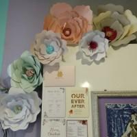 Paper Flower size M diameter 25 cm| Backdrop Bunga Kertas