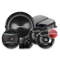 Paket Audio Mobil Kenwood Pioneer Fullset