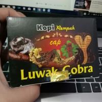 Kopi Rempah Cap Luwak Cobra untuk pria dan wanita