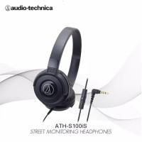 Audio Technica S100IS BK EX / Garansi Resmi / Headset audio Technica