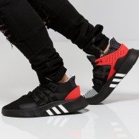 Sepatu Adidas Eqt Bask Adv Core Black Red Premium Original Sneakers