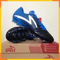 Sepatu Bola Specs Equinox FG Black Tulip Blue 100822 Original BNIB