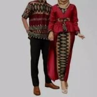 baju batik cauple pria & wanita manjahhh