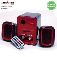 Speaker Aktif Advance DUO-200 Support Flashdisk MicroSD Radio dan AUX