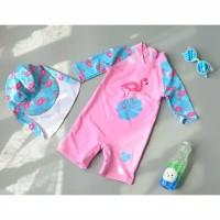 Baju Renang Anak Flamingo Flaminggo Topi Tropical