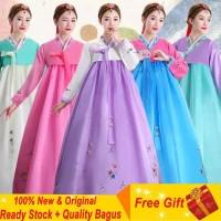Baju Adat Korea Daerah Tradisional Hanbuk Hanbok Show Kostum Pakaian