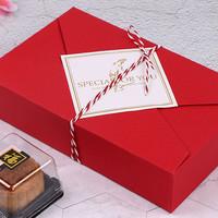 box kotak kado hadiah imlek natal valentine merah red hampers samson