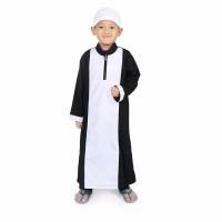baju jubah anak laki usia 3 10 thn