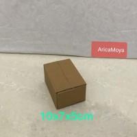 kardus/karton/box uk. 10x7x5 cm untuk packing