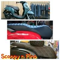 kulit jok Motor Scoopy-Fino custom Mb tech carera
