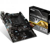MSI A320M Pro VD/S (AM4, AMD Promontory A320, DDR4, USB3.1, SATA3)