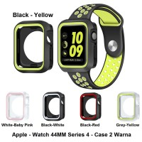 Apple Watch 44mm Series 4 Iwatch Nike Soft Case Cover Silicone Silikon