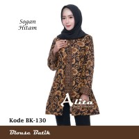 Blouse Batik Wanita/ Atasan Wanita/ Baju Kemeja Wanita Batik Kerja 05