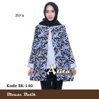 Blouse Batik Atasan Wanita Baju Kemeja Wanita Batik Pekalongan 05